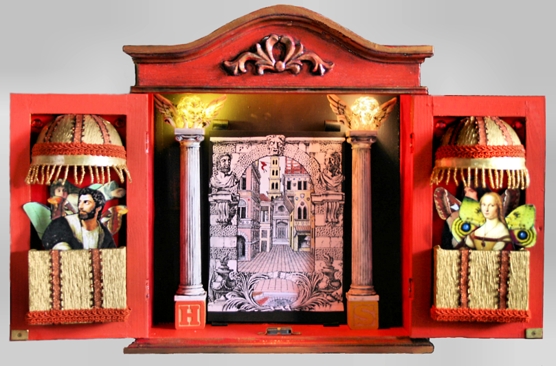 The fairy style toy theater for Open balcony in a theatre